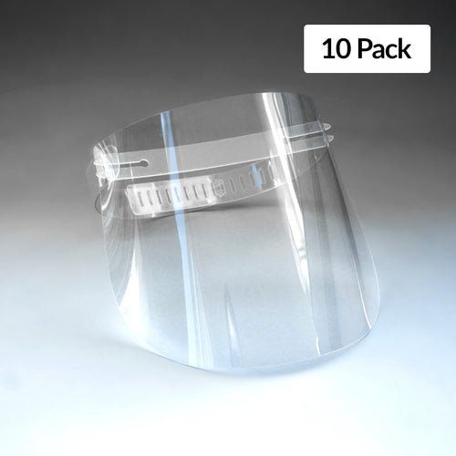 Standard Re-usable Face Shield (10 Pack)