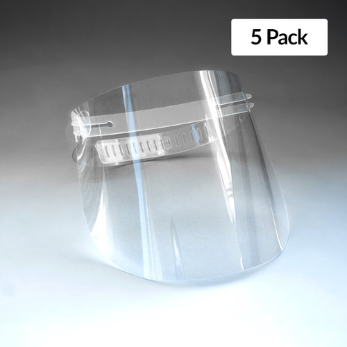 Standard Re-usable Face Shield (5 Pack)