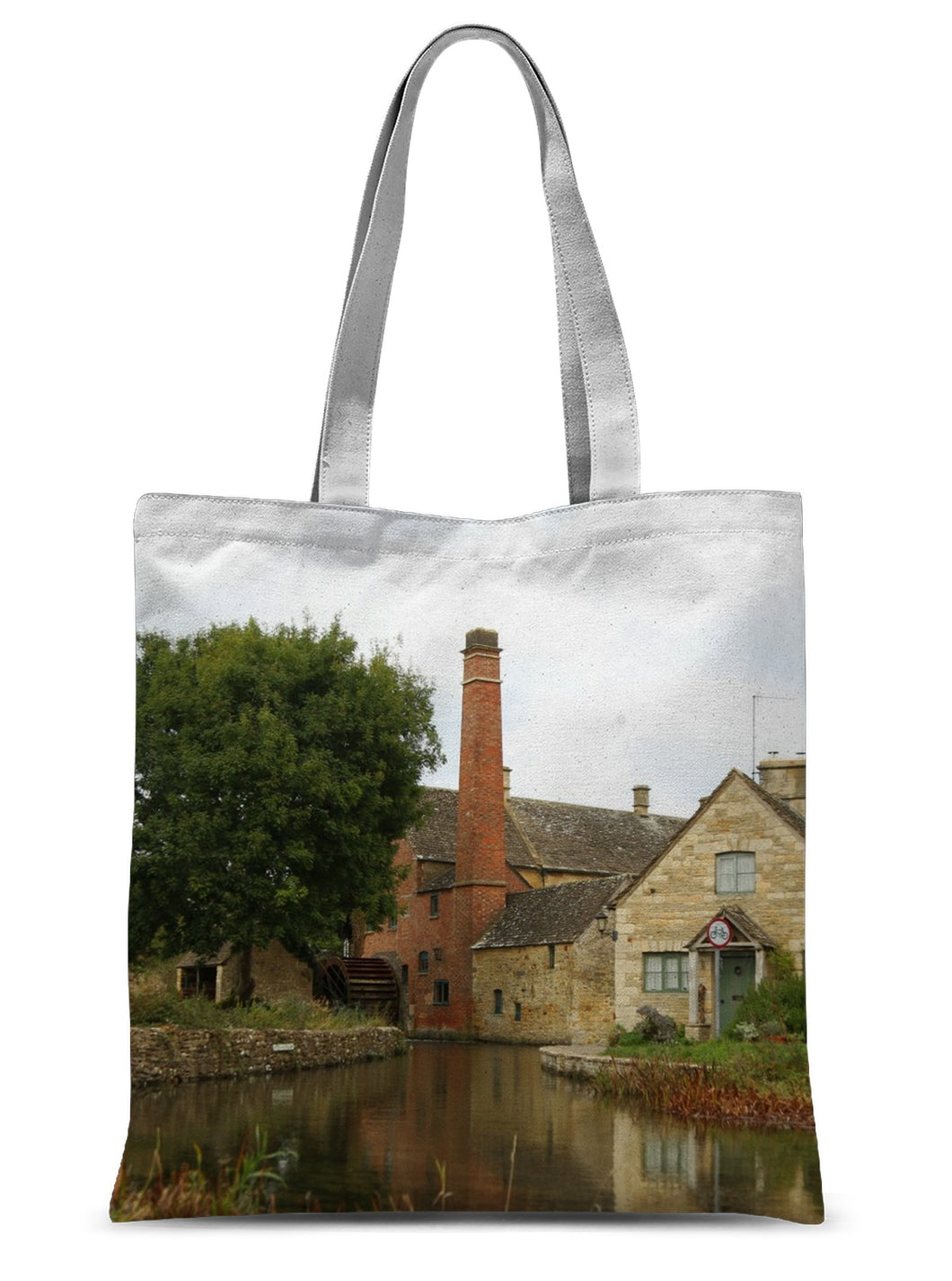 The Mill in Lower Slaughter Sublimation Tote Bag