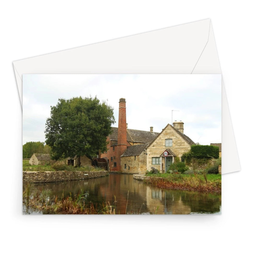 The Mill in Lower Slaughter Greeting Card