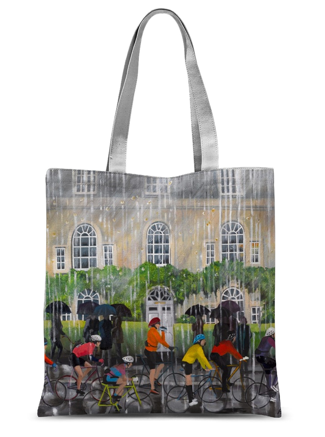 Bampton in the Rain Sublimation Tote Bag