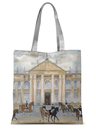 Blenheim Palace in Spring Sublimation Tote Bag