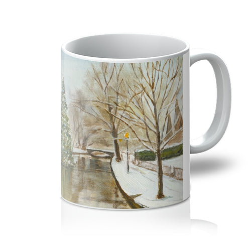 Christmas in Bourton-on-the-Water Mug