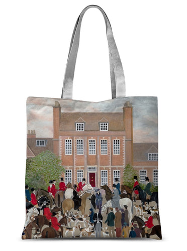Byfleet Manor as used in Downton Abbey Sublimation Tote Bag