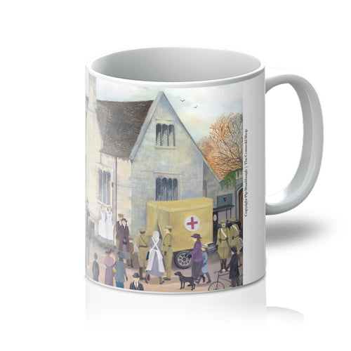 Bampton Grammar School as used in Downton Abbey Mug