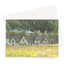 Load image into Gallery viewer, Arlington Row in Bibury Greeting Card
