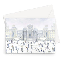 Load image into Gallery viewer, Blenheim Palace in Winter Greeting Card