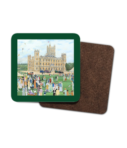 Highclere Castle as used in Downton Abbey Coaster - 4 Pack