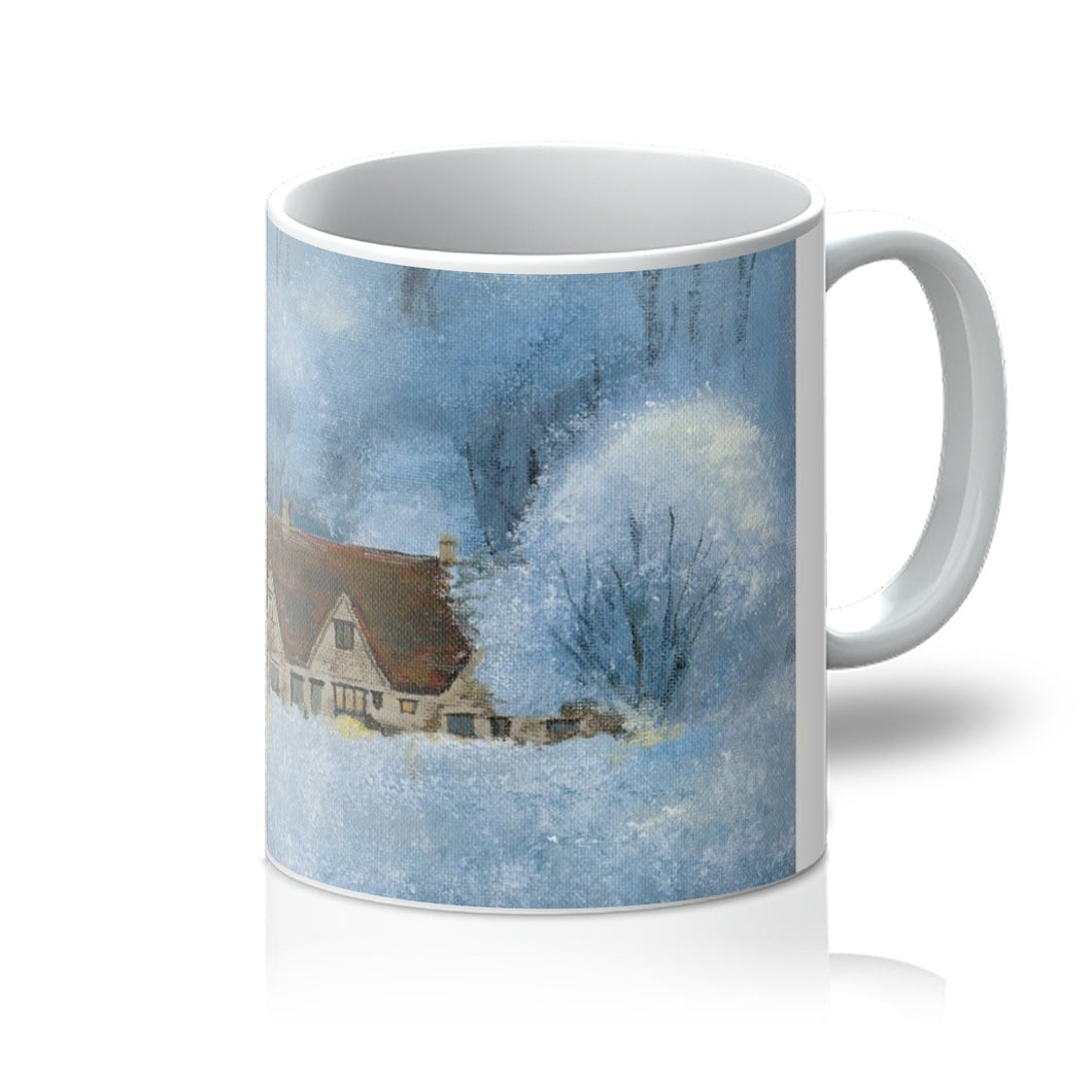 Arlington Row in the Frost Mug