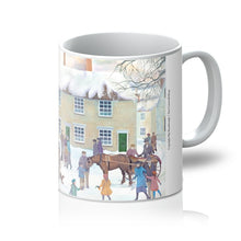 Load image into Gallery viewer, Bampton Village as used in Downton Abbey Mug