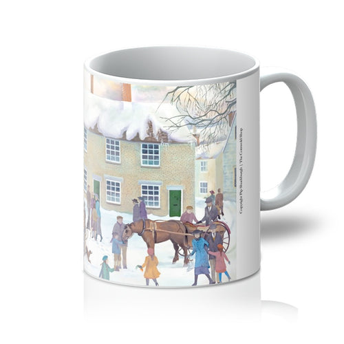 Bampton Village as used in Downton Abbey Mug