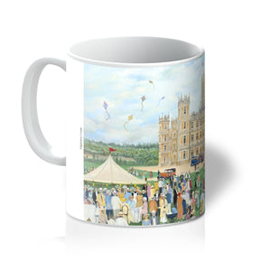 Highclere Castle as used in Downton Abbey Mug