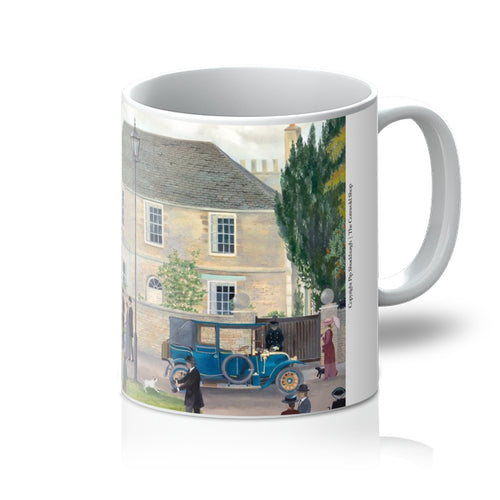 Churchgate House as used in Downton Abbey Mug
