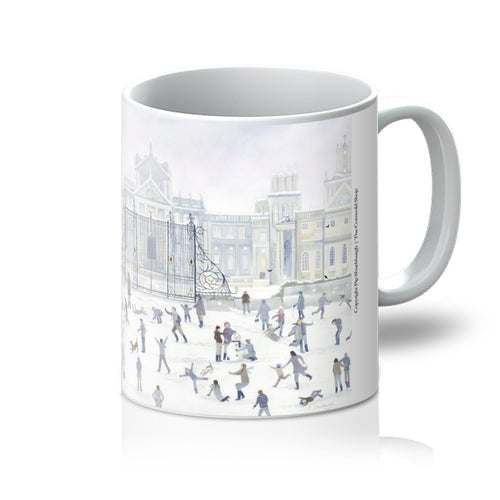 Blenheim Palace in Winter Mug