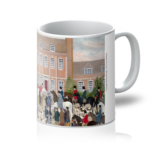 Byfleet Manor as used in Downton Abbey Mug