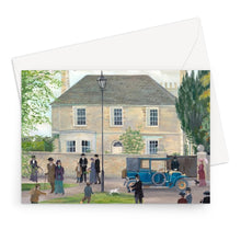 Load image into Gallery viewer, Churchgate House as used in Downton Abbey Greeting Card