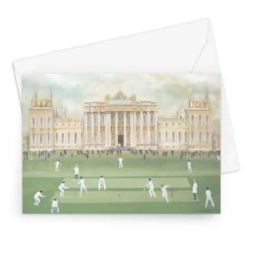 Blenheim Palace in Summer Greeting Card
