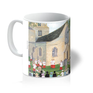 Bampton Church as used in Downton Abbey Mug