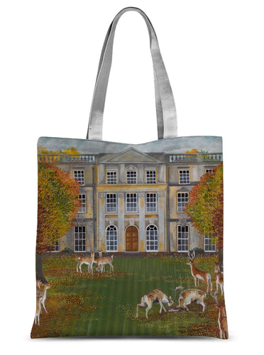 Barnsley Park in Autumn Sublimation Tote Bag