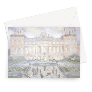 Blenheim Palace in Autumn Greeting Card