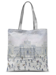 Blenheim Palace in Winter Sublimation Tote Bag