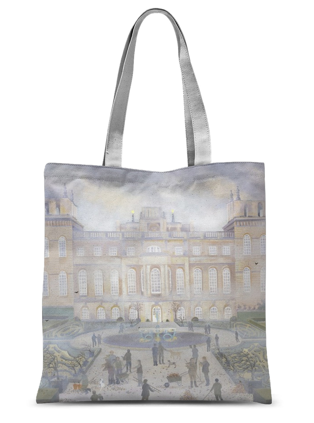 Blenheim Palace in Autumn Sublimation Tote Bag