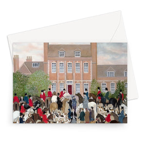 Byfleet Manor as used in Downton Abbey Greeting Card