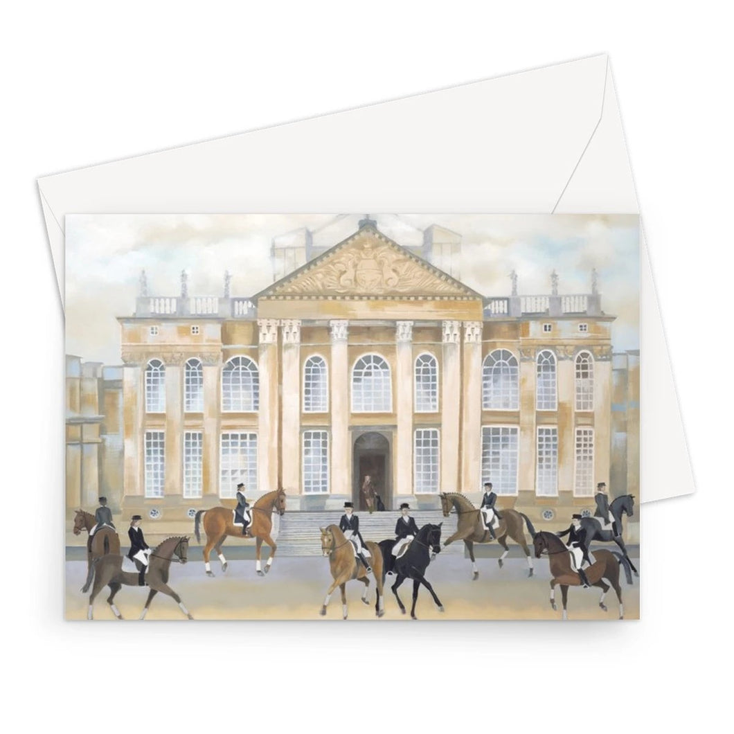 Blenheim Palace in Spring Greeting Card