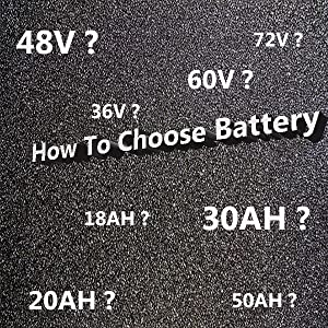 How To Choose Lithium Battery fit your motor