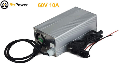 60V 10A Lithium Battery Charger for 20S LiFePO4 Battery Pack