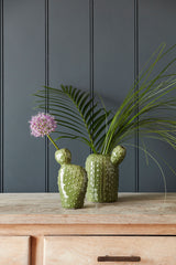Cactus Vase by Burgon & Ball
