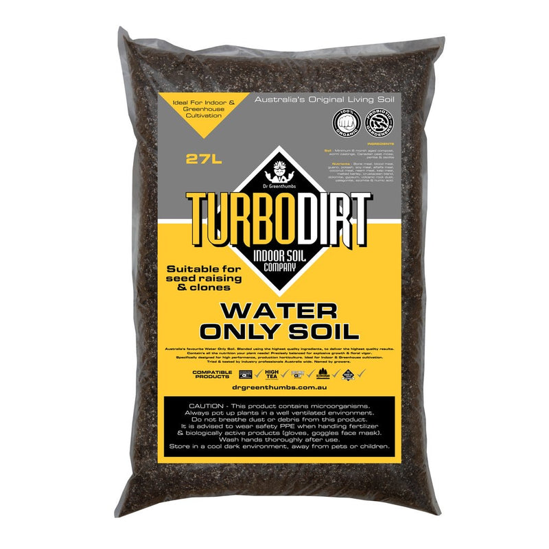 Turbo dirt- Water only soil