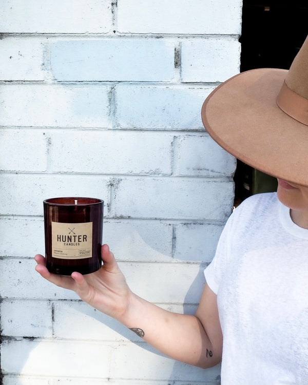 ANDREW // tobacco + burnt hay by Hunter Candles