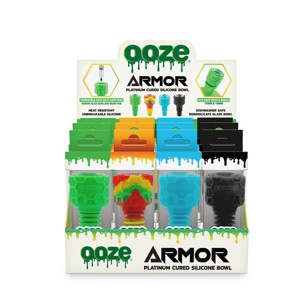 OOZE ARMOR SILICONE BOWL 12CT