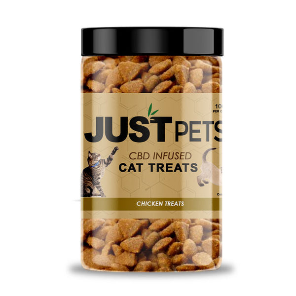 JustCBD INFUSED CAT TREATS