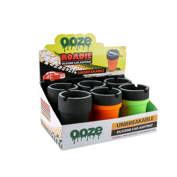 OOZE ROADIE SILICONE CAR ASHTRAY