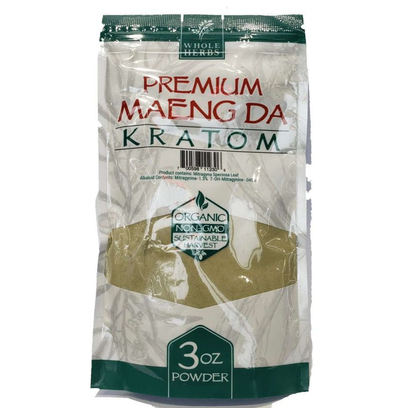 Whole Herbs 3oz Kratom Powder