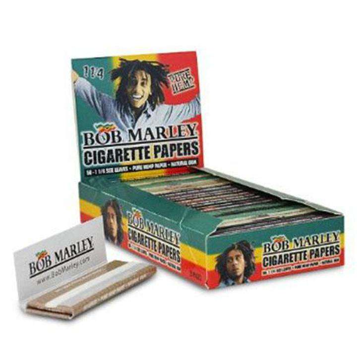 BOB MARLEY CIGARETTE Hemp PAPERS