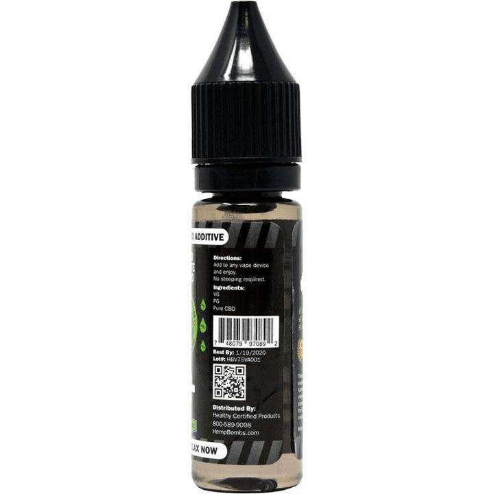 CBD E-Liquid Unflavored 16.5ml 75mg 12/Box