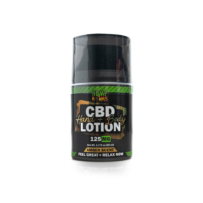 Hemp Bombs CBD Hand & Body Lotion 125mg 6ct