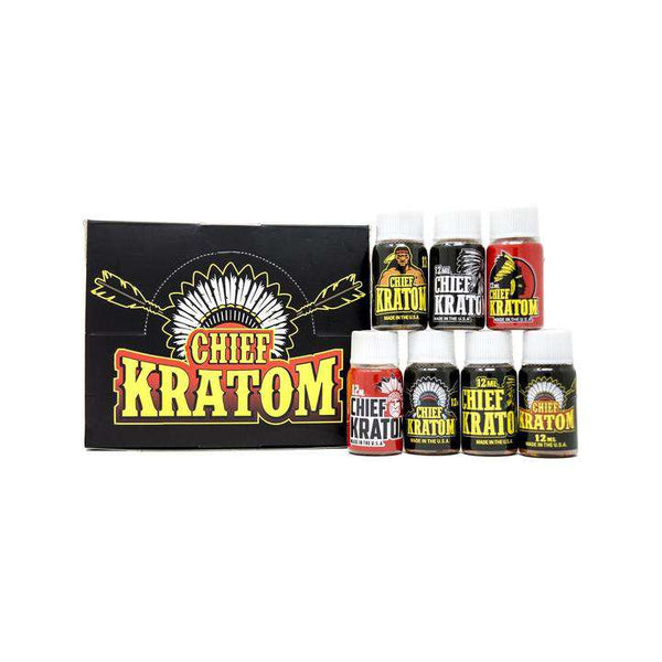 Chief Kratom - 12ml Liquid Extract - Box of 20