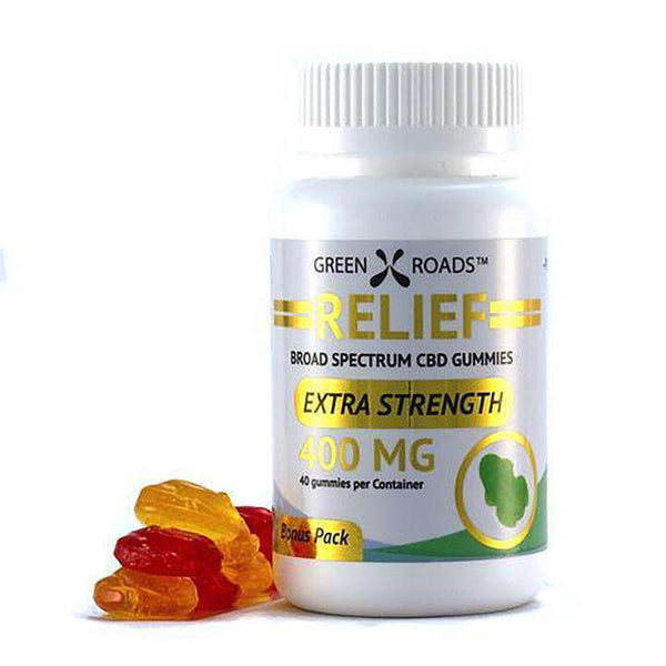 Green Roads 400 mg Relief Gummies