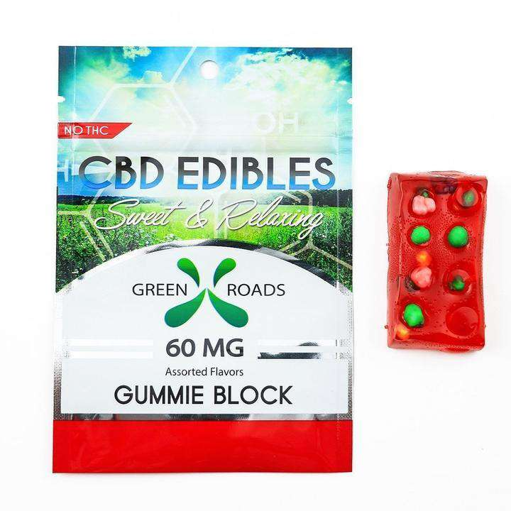 Green Roads Edible Gummy Blocks 60 mg