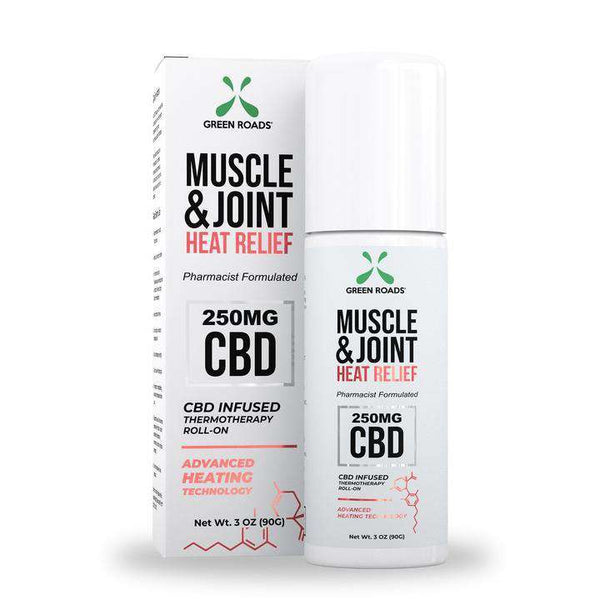 Green Roads Muscle & Joint Heat Relief Roll on