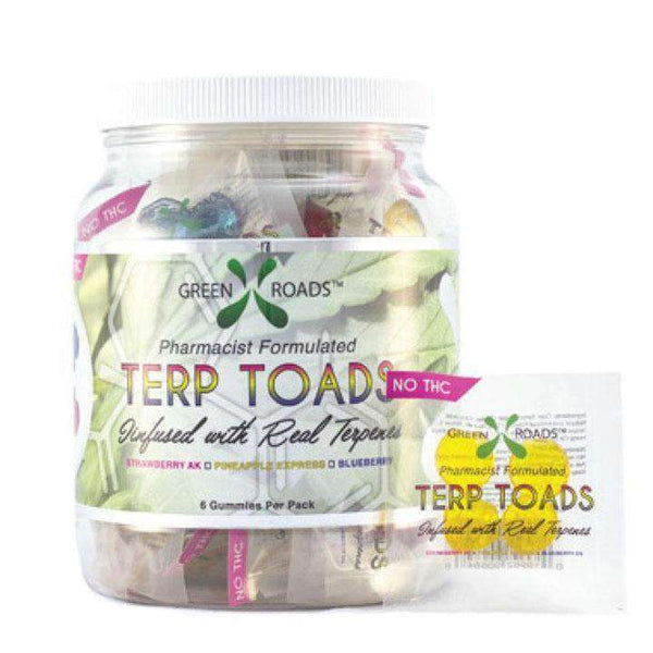 Green Roads Terp Toad Container  30 bags per box