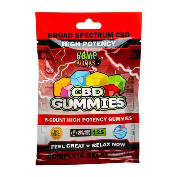 Hemp Bombs CBD High Potency Gummies