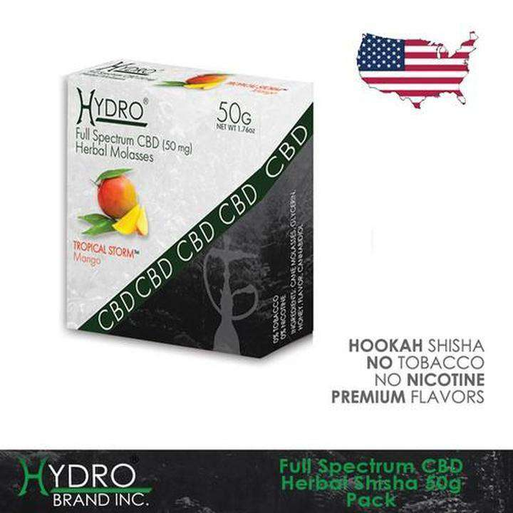 HYDRO CBD HERBAL SHISHA 50G 10/box