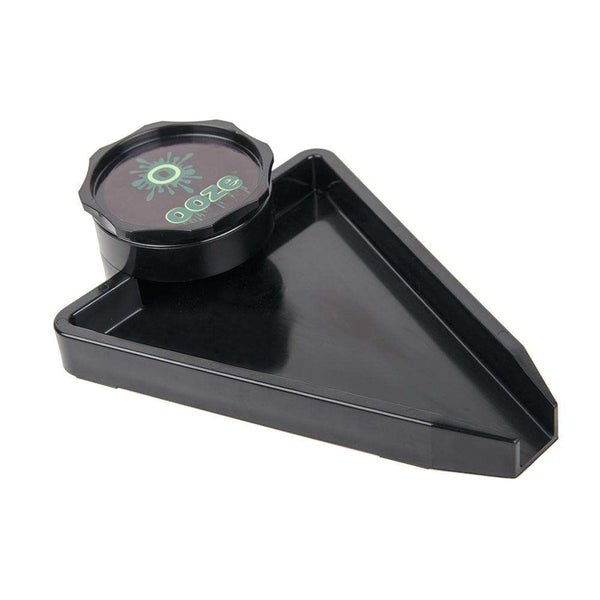 OOZE GRINDER WITH TRAY