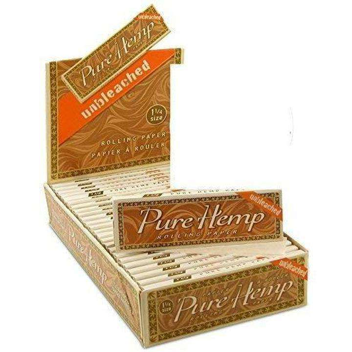 PURE HEMP CIGARETTE PAPERS