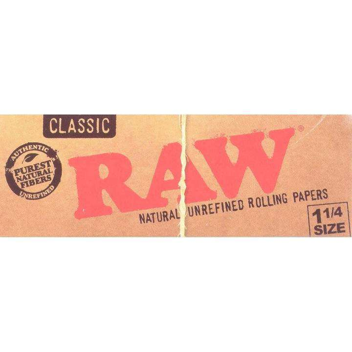 RAW NATURAL UNREFINED PAPERS
